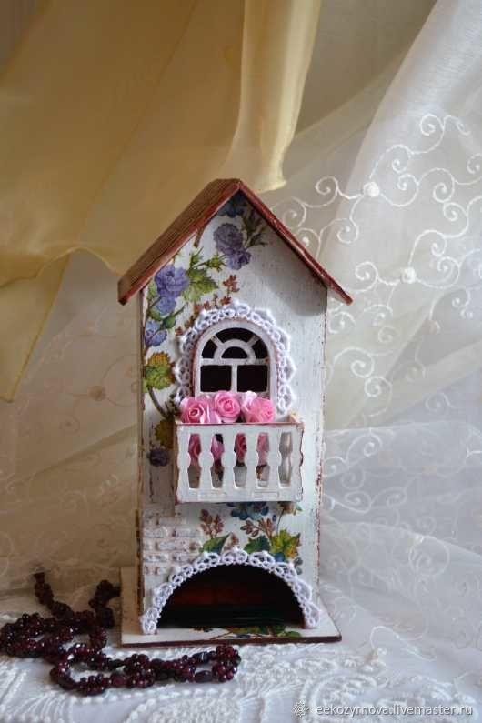 чайные домики декупаж картинки с балконом таблица