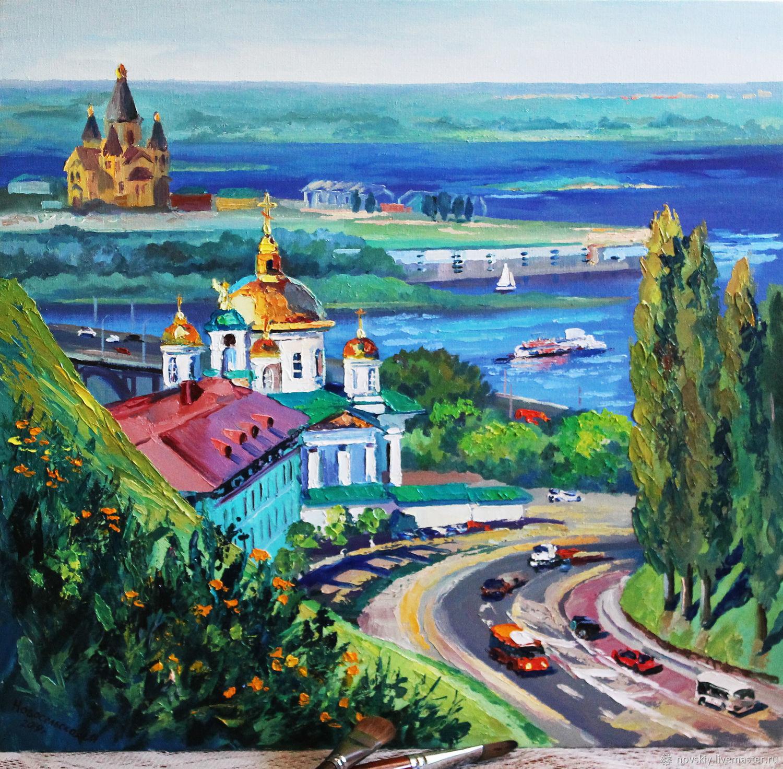 открытки с городом нижний новгород